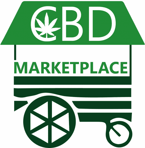 Logo CBD Marketplace pixel fond transparent