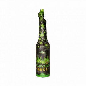 CBD Marketplace Bière extrait chanvre noir Haze