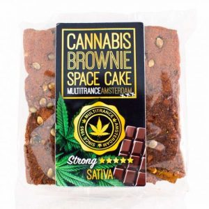 CBD Marketplace cannabis brownie chocolat CBD