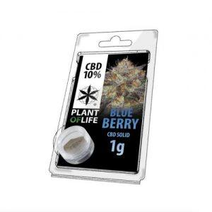CBD Marketplace CBD Hash Solide 10% Blueberry 1g