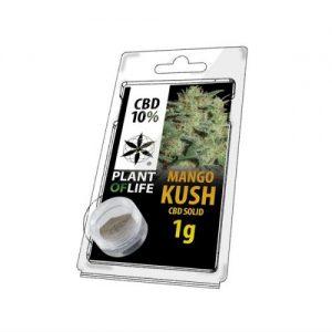 CBD Marketplace CBD Hash Solide 10% Mango Kush 1g