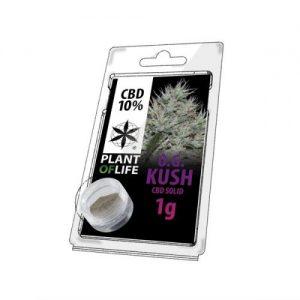 CBD Marketplace CBD Hash Solide 10% OG Kush 1g