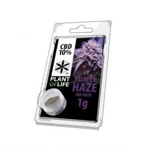 CBD Marketplace CBD Hash Solide 10% Purple Haze 1g