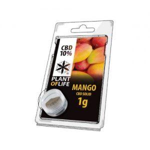 CBD Marketplace Hash solide CBD 10% Mangue 1g