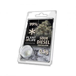 CBD Marketplace cristaux Cbd sour diesel 99% 500mg