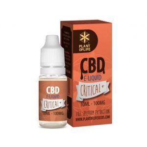 CBD Marketplace E-liquide Critical+ CBD 100mg