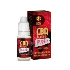 CBD Marketplace E-liquide Raspberry CBD 100mg