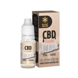CBD Marketplace E-liquide Sour Diesel CBD 100mg