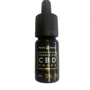 CBD Marketplace Huile de CBD 5% à l'huile de marula 10ml
