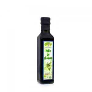 CBD Marketplace Huile de graine de chanvre bio 250 ml