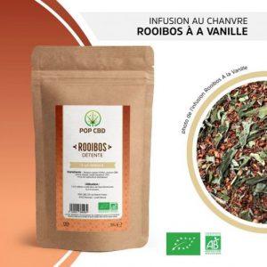 Cbd Marketplace infusion de chanvre rooibos à la vanille