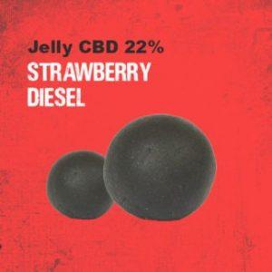 CBD Marketplace Jelly CBD 22% CBD Strawberry Diesel 100g