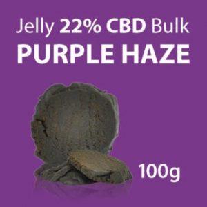 CBD Marketplace Jelly CBD 22% Purple Haze 100g