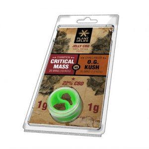 CBD Marketplace Jelly Hash CBD 22% Critical VS OG Kush 2g