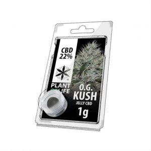 CBD Marketplace Jelly Hash CBD 22% OG Kush 1g