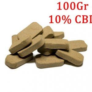 CBD Marketplace Hash solide de CBD 10% 100g