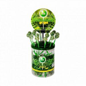 CBD Marketplace 100 Sucettes Cannabis Space Pops
