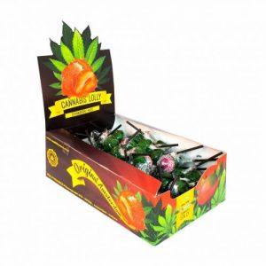CBD Marketplace 70 Sucettes Strawberry Haze