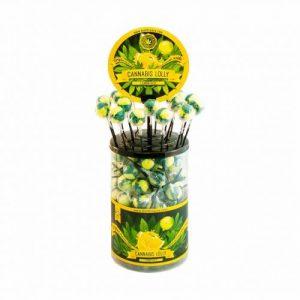 CBD Marketplace 100 Sucettes Lemon Haze