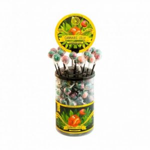CBD Marketplace 100 Sucettes Strawberry Haze