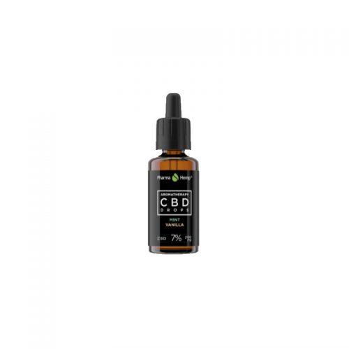 CBD marketplace huile de CBD 7% Menthe vanille