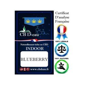 CBD Marketplace - Blueberry Indoor - CBD'eau