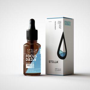 CBD Marketplace - huile cbd Focus Daily 10% Stilla - Kanaleg
