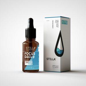 CBD Marketplace - huile cbd Focus Daily 20% Stilla - Kanaleg