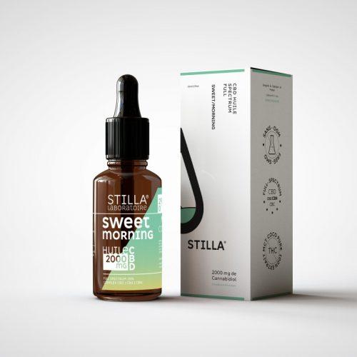CBD Marketplace - huile cbd sweet morning 20% Stilla - Kanaleg
