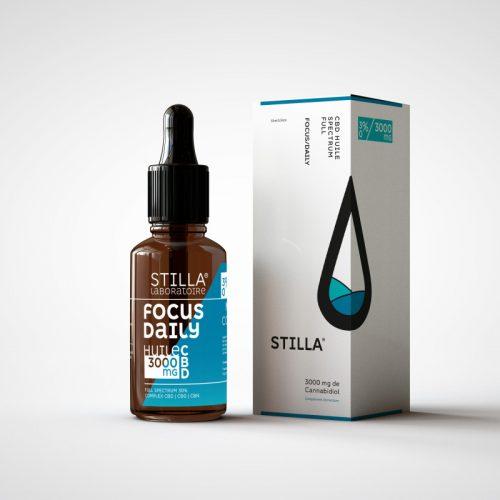 CBD Marketplace - huile cbd Focus Daily 30% Stilla - Kanaleg