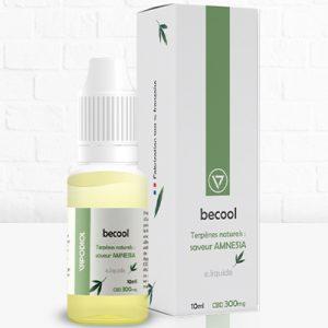 Becool e-liquide arôme Amnesia 300mg CBD - CBDOlogic - CBD Marketplace