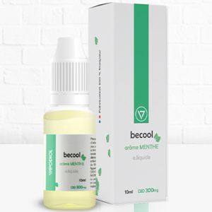 Becool e-liquide arôme menthe 300mg CBD - CBDOlogic - CBD Marketplace