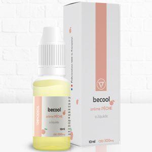 Becool E-liquide arôme Pêche 300mg CBD - CBDOlogic - CBD Marketplace
