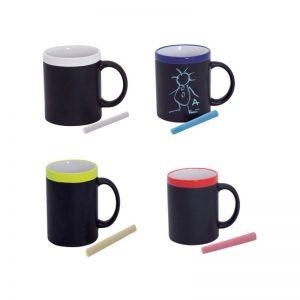 Mug ardoise et céramique avec craie - CBD Marketplace