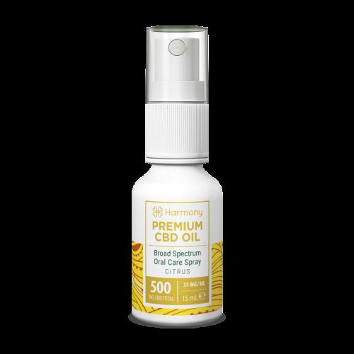 Huile Spray Citrus 500mg - CBD Marketplace