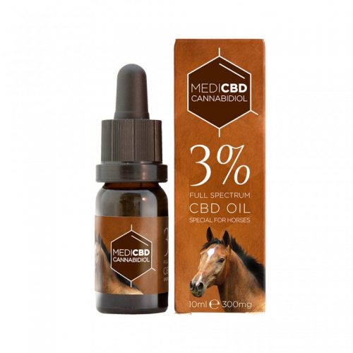 Huile CBD 3% pour Cheval - CBD Marketplace