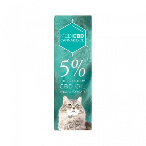 Huile CBD 5% pour Chat - CBD Marketplace
