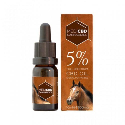 Huile CBD 5% pour Cheval - CBD Marketplace