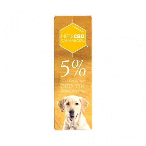 Huile CBD 5% pour Chien - CBD Marketplace