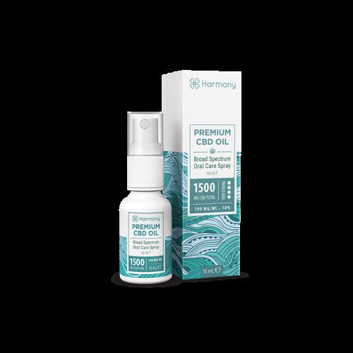 Huile Spray Mint 1500mg - CBD Marketplace