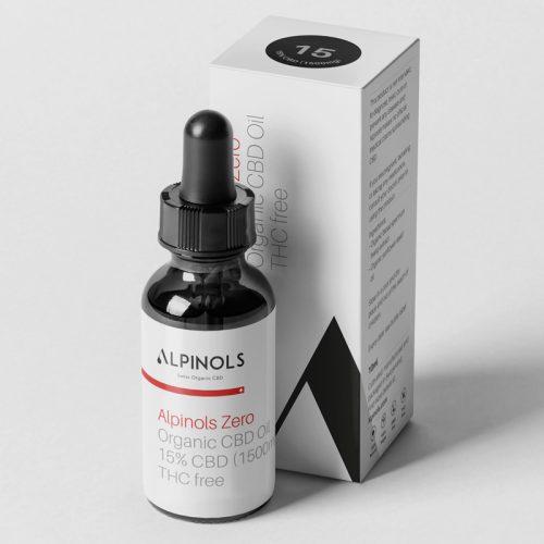 Huile CBD 15% Spectre Large | ALPINOLS | CBD Marketplace