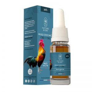 Huile coco MCT 10% CBD/CBG Multi Spectre 10ml | Nutridiol | CBD Marketplace