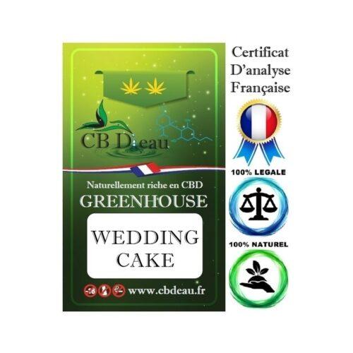 Wedding Cake Fleurs de CBD   CBD Marketplace
