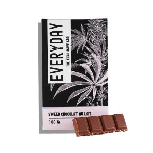 chocolat au lait Aux Graines De Chanvre | EverWeeDay | CBD Marketplace