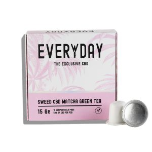 CDB Match Green Tea | EverWeeDay | CBD Marketplace