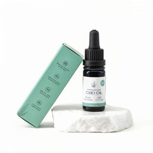 Huile de CBD Broad Spectrum 30% 10ml   Pure Extract CBD   CBD Marketplace