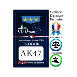 Fleur de CBD AK47 | CBD'Eau | CBD Marketplace