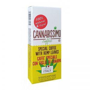 Dosettes café aux feuilles de chanvre | Cannabissimo |CBD Marketplace