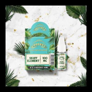 E-liquide CBD GREENEO Skuff element | CBD Marketplace