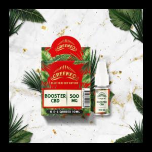 E-liquide BOOSTER CBD GREENEO | CBD Marketplace